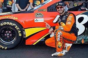 NASCAR Cup Qualifying report Truex scores pole position at Talladega