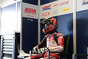 CEV Qualifying report Suhu trek hambat laju Andi Gilang