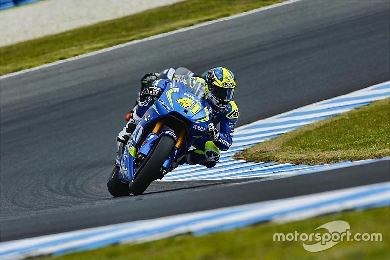 "Espargaro says ""disaster"" day not reflective of Suzuki pace"