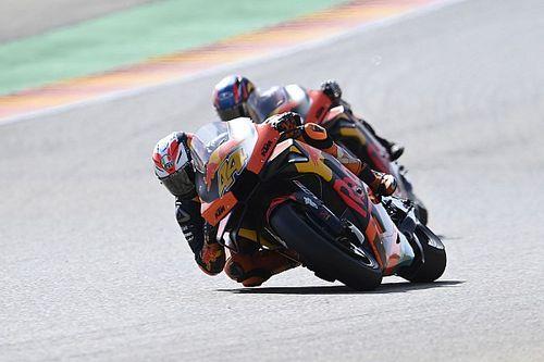 """Espargaro: """"Aragon GP, KTM için acı vericiydi"""""""