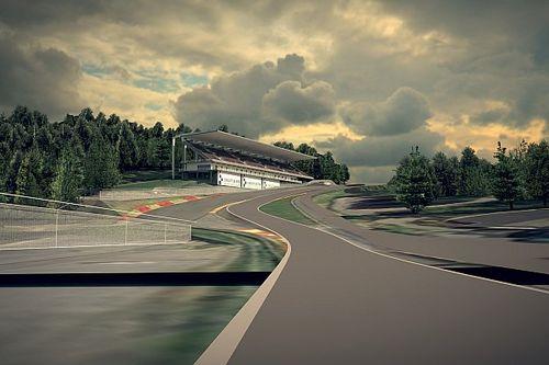 Spa, gasto multimillonario en grava para aspirar a MotoGP y F1