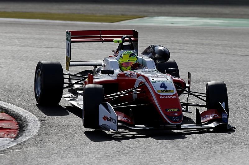 EK F3 Nürburgring: Superieure Schumacher wint ook tweede race