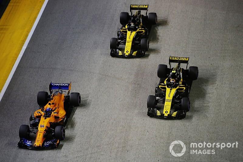 Sainz se diz satisfeito com oitavo lugar no GP de Singapura