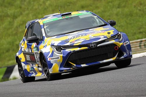 Upgraded hydrogen-powered Toyota completes second race