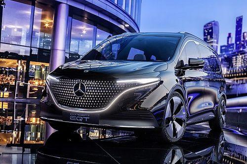 Mercedes Concept EQT, Si Van T-Class Listrik