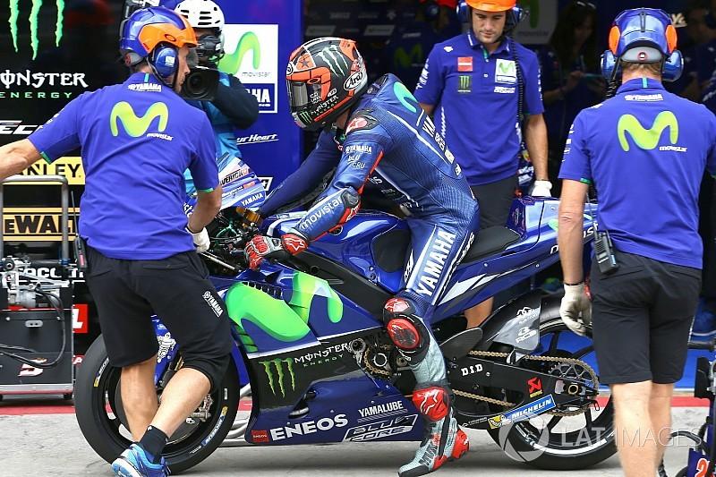 Viñales é contra mudança no chassi da Yamaha