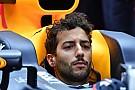 Formule 1 Ricciardo: Le mauvais début d'année 2017, un