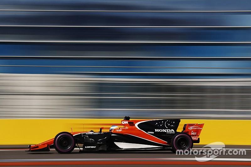 Alonso: La McLaren perd 3 secondes en ligne droite à Sotchi