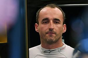 Williams quiere evaluar en el test el alcance de las lesiones de Kubica