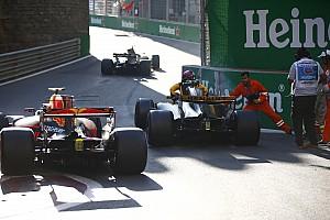 Формула 1 Новость FIA изменила поребрик в восьмом повороте трассы в Баку