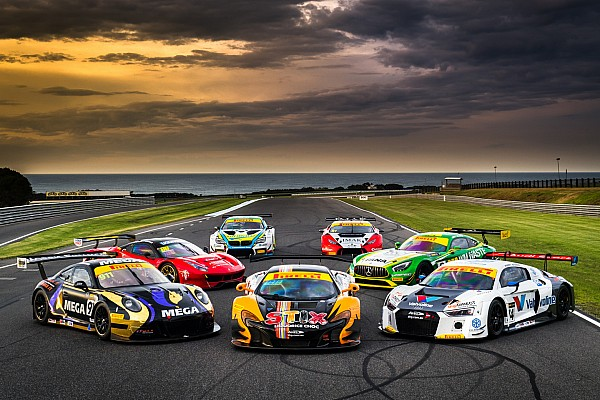 Australian GT Breaking news Australian GT combines sprint/endurance schedules for 2018
