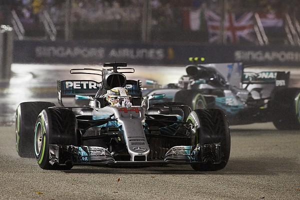 Дождь, который все смыл. Что добавило Mercedes скорости в Сингапуре