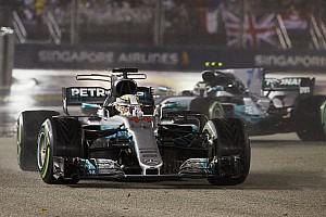 Mercedes'in Singapur'daki performansı yarışta nasıl iyileşti?