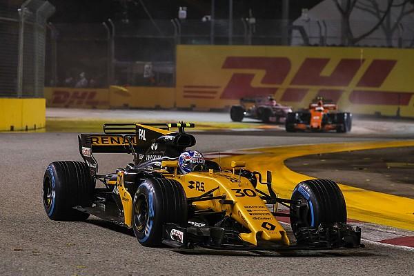 """Após 6º, Palmer diz que sairá da Renault """"de cabeça erguida"""""""