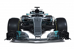 Галерея: Mercedes W08 у деталях