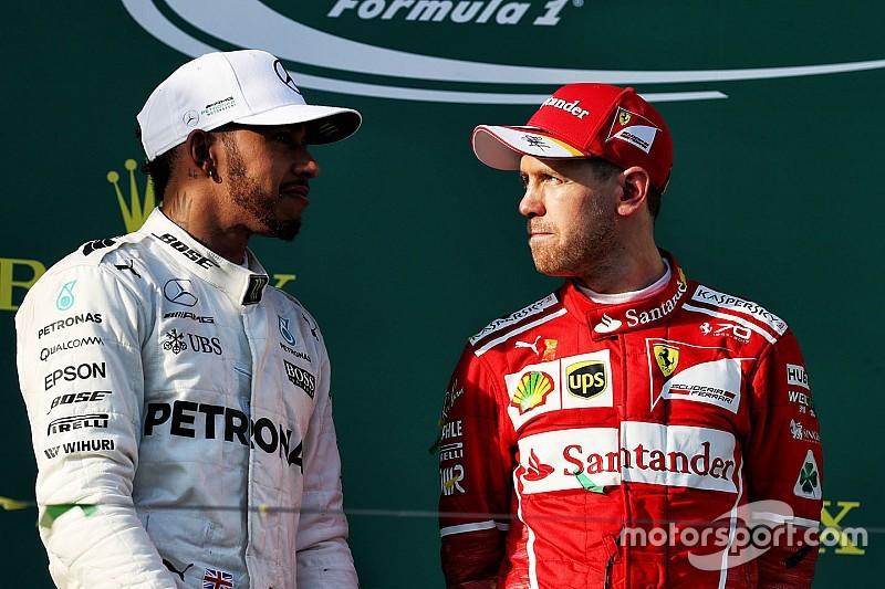 Vettel et Hamilton ravis à l'idée de se battre pour le titre