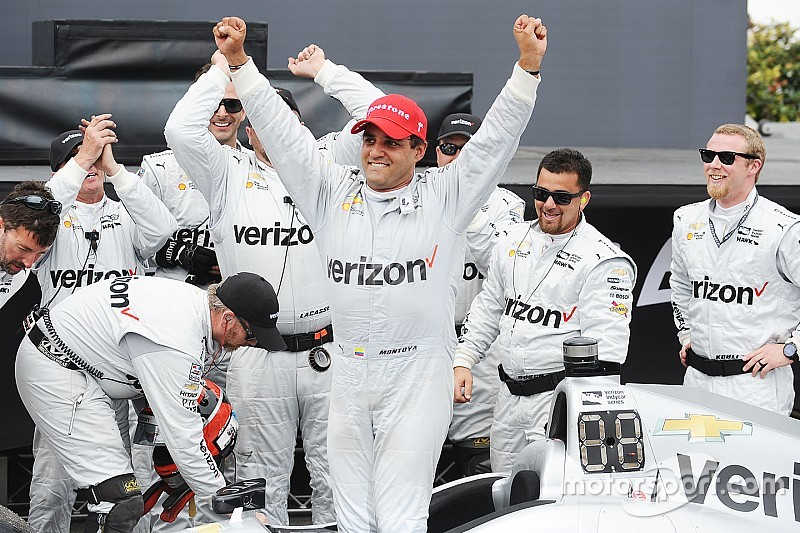 Montoya clinches second straight St. Petersburg win