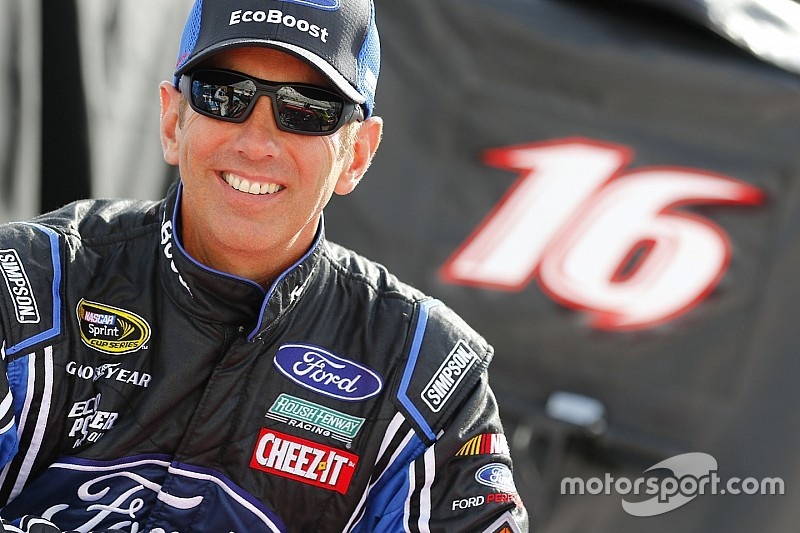 Biffle leads opening Cup practice at Talladega