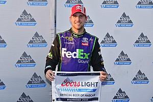 NASCAR Cup Qualifying report Denny Hamlin edges Kyle Larson for Richmond pole