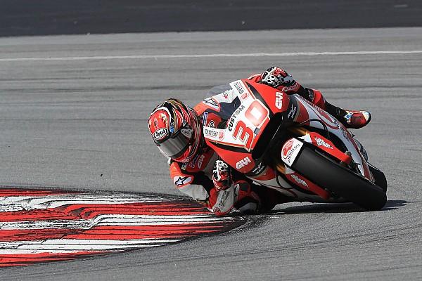 MotoGP 中上、セパンで存在感示す。「即座にタイムを出せるようになってきた」
