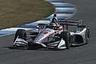 IndyCar Power tops IMS road course test, King stars, Telitz debuts