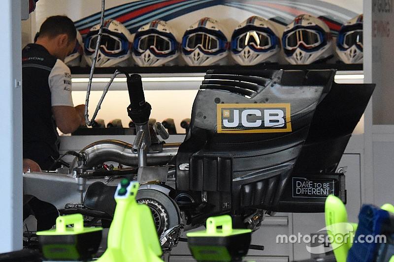 Williams: la scatola del cambio della FW41 è rimasta in titanio