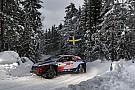 Ралі Швеції: безжальний сніг