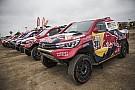 Dakar 2018: Toyota-Doppelführung nach Auftaktetappe