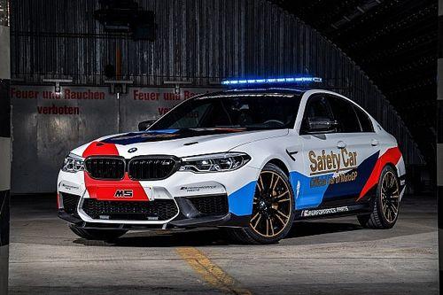 BMW présente le nouveau Safety Car MotoGP