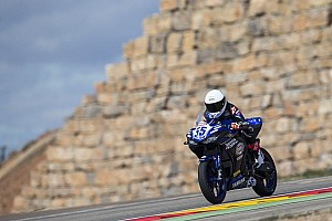 World Superbike Practice report WorldSSP300 Aragon: Galang Hendra lolos ke Superpole 2