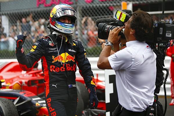 Formule 1 Réactions Ricciardo a