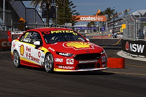 Supercars Qualifying report Newcastle Supercars: McLaughlin snags pole for Race 25, Whincup fifth