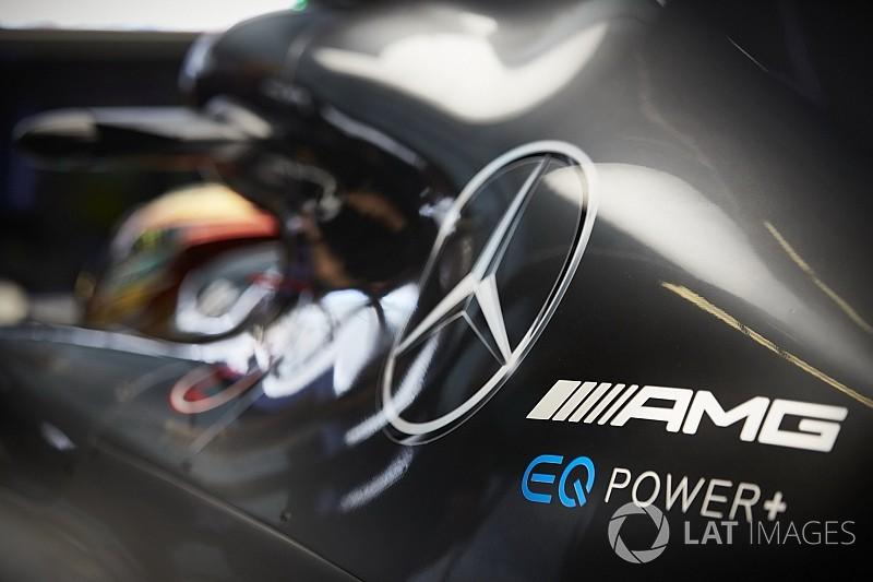 Двигун Ф1 Mercedes зруйнувався під час стендових іспитів