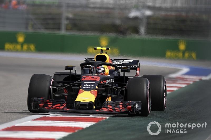 Verstappen, sancionado por no respetar una bandera amarilla