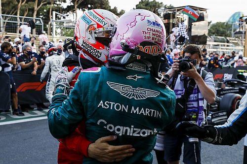 Leclerc, Vettel'in Bakü'deki ikinciliğinden memnun
