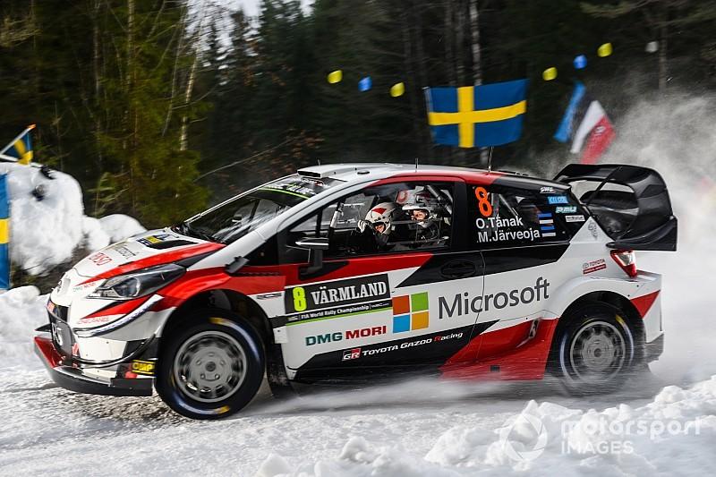 Svezia, PS2-3: Tanak si porta in testa davanti a un sorprendente Suninen. Neuville è terzo