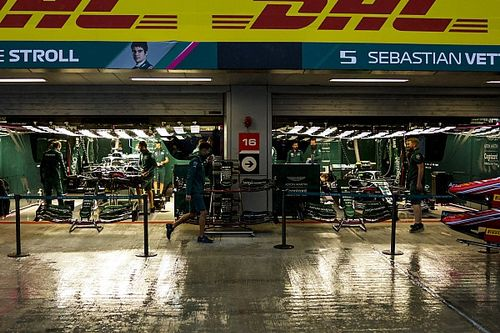 Final F1 Russian GP practice cancelled due to wet weather