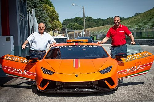 La Lamborghini Huracan Performante è la nuova Safety Car di Imola