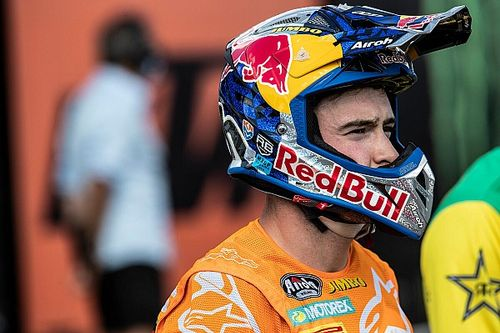 Herlings fa progressi: è tornato ad allenarsi in moto