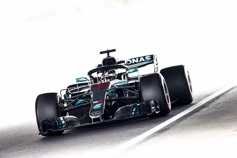Hamilton también domina una difícil tercera sesión de libres en Japón