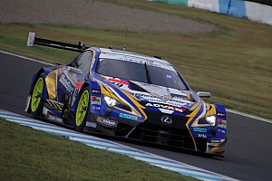 Lexus leads final Super GT test as Honda struggles