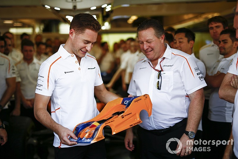 Vandoorne na laatste F1-race: