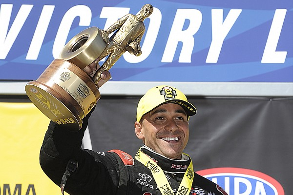 NHRA Todd hoping to contend for Funny Car title in his first season