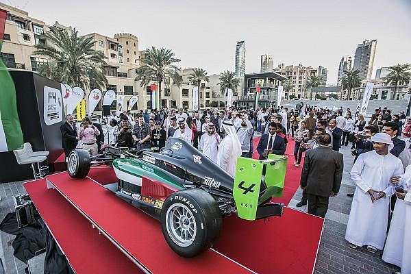إطلاق بطولة الفورمولا 4 في الإمارات العربية المتحدة