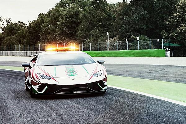 Формула 1 Пояснення: загадковий Lamborghini на старті Гран Прі Італії