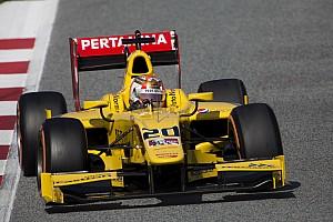 FIA F2 Testing report Nato ends Barcelona F2 test on top