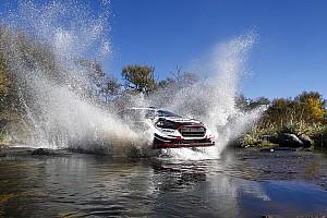 WRC BRÉKING Evans és a híd esete: élete első WRC-győzelmébe került
