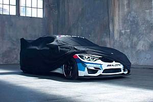 Auto Actualités La BMW M4 GT4 se montre !