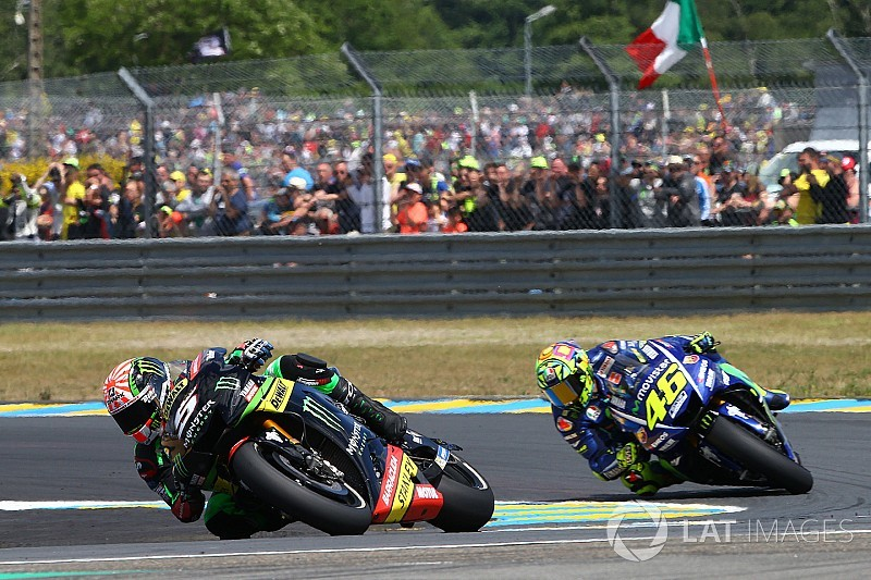 Zarco: My career doesn't hinge on when Rossi retires