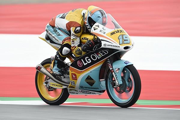 Moto3 Últimas notícias Argentino Gabriel Rodrigo marca segunda pole seguida